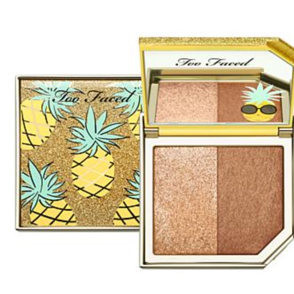 Too Faced Pineapple Paradise Highlighting Duo